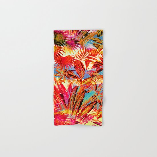 tropical beach Hand & Bath Towel