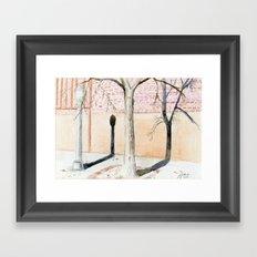 Street Scene II Framed Art Print