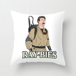 Ray-bies Throw Pillow