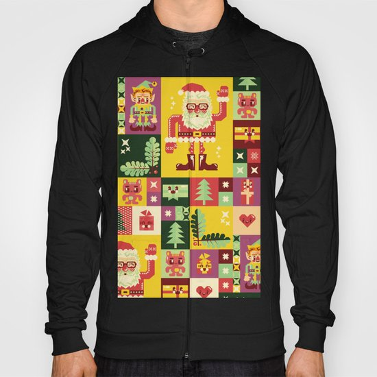 Christmas Geometric Pattern No. 1 Hoody
