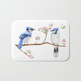 Hope and Courage by Teresa Thompson Bath Mat