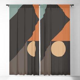 Mid Century 08E Blackout Curtain