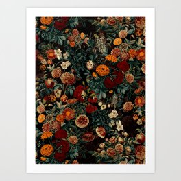 EXOTIC GARDEN - NIGHT XXI Art Print