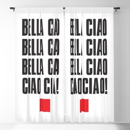 Bella Ciao! Blackout Curtain