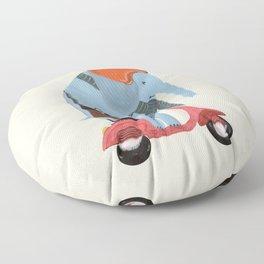 the elephant mobile Floor Pillow