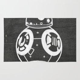 Chalkboard BB-8 Rug