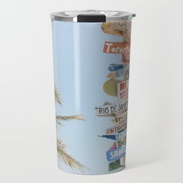 summer wanderlust Travel Mug