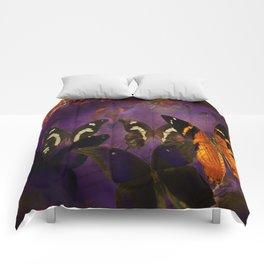 Butterfly flee Comforters