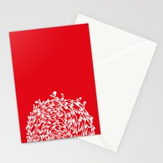 Red Birds Stationery Cards