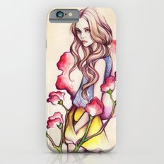 Birth Flower IV - Sweet Pea iPhone 6 Slim Case