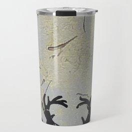 Reindeer Art Travel Mug
