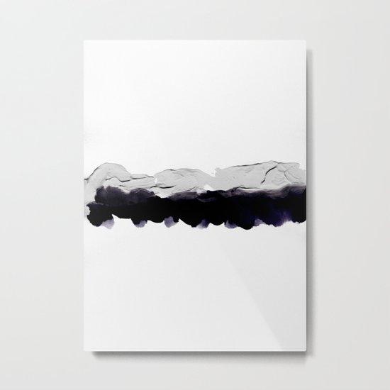 Never Metal Print