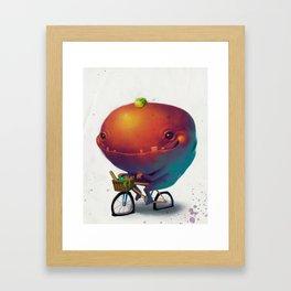 Bike Monster 2 Framed Art Print