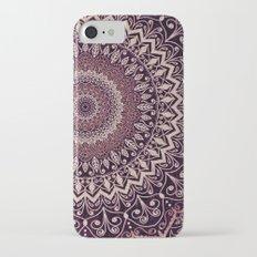 MARSALA MANDALA iPhone 7 Slim Case