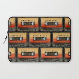 awesome transparent mix cassette tape vol 1 Laptop Sleeve