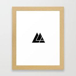 Everydaygeometric - Day Seven -  Framed Art Print
