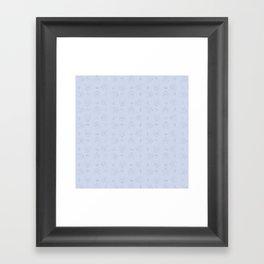 Simplistic Pattern (v2) Framed Art Print