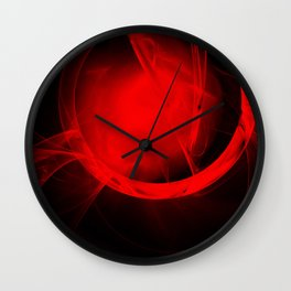 Portal to a vibrant hot future Wall Clock