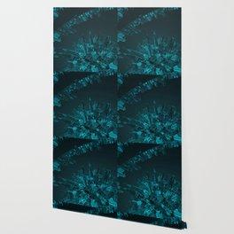 Future City Blue Wallpaper