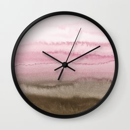 WITHIN THE TIDES STRAWBERRY CAPPUCCINO Wall Clock