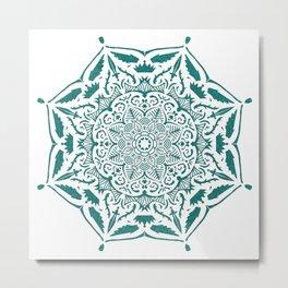 King's rest Mandala Metal Print