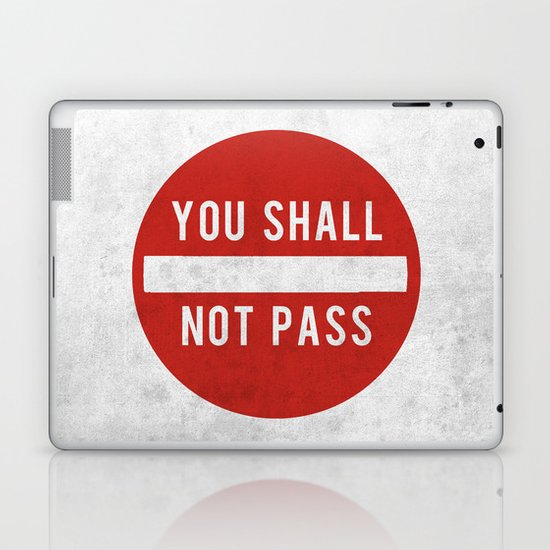 you shall not pass Laptop & iPad Skin