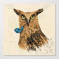 Mr.Owl V Canvas Print