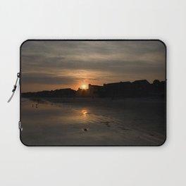 Sunset on Fripp Island Laptop Sleeve
