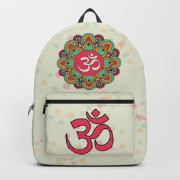 Om Mandala Backpack