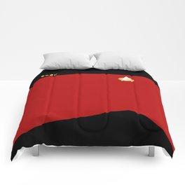 Star Trek: TNG Red Captain Uniform Comforters