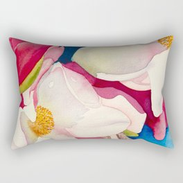 dogwood flowers Rectangular Pillow