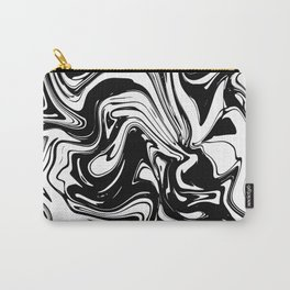 Liquid Marble B&W 028 Carry-All Pouch