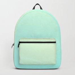 FRESH MINT - Minimal Plain Soft Mood Color Blend Prints Backpack