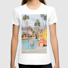 Palm Springs Pool Day IV T-shirt