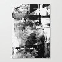 kurt rahn Canvas Prints featuring Kurt by nicebleed