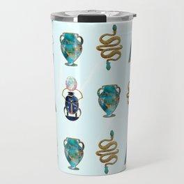 Ancient Symbols Pattern 1 Travel Mug