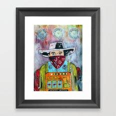 One Armed Bandit Framed Art Print