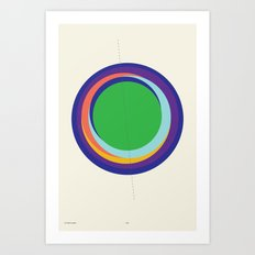 Future Globes 006 — Matthew Korbel-Bowers Art Print