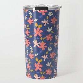 Dancing Florals Travel Mug