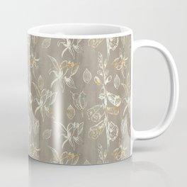 Foxglove Pattern Coffee Mug