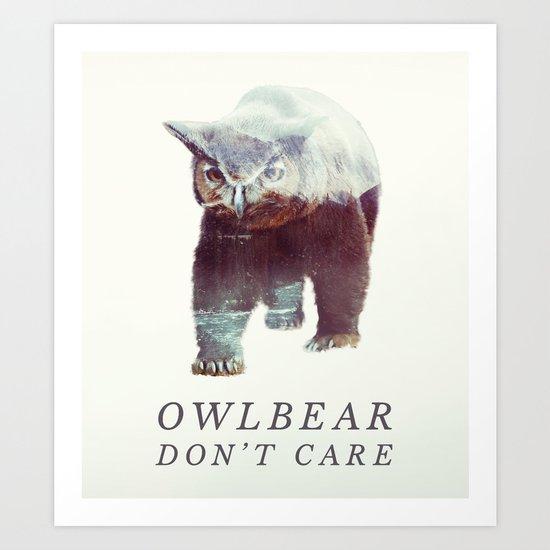 Owlbear (Typography) by andywynn