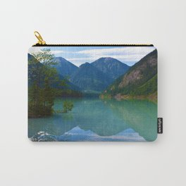Morning Reflections on Kinney Lake in Mount Robson Provincial Park, British Columbia Carry-All Pouch