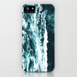 Sea Waves Dark iPhone Case