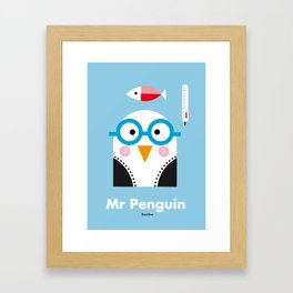 Mr. Penguin Framed Art Print