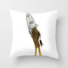 Girark Throw Pillow