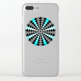Maze Me Clear iPhone Case