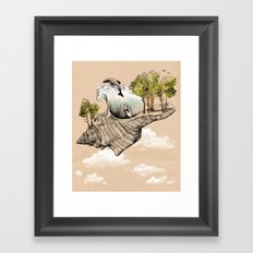 Daydream Island Framed Art Print