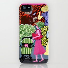 Summer Shoppers iPhone Case