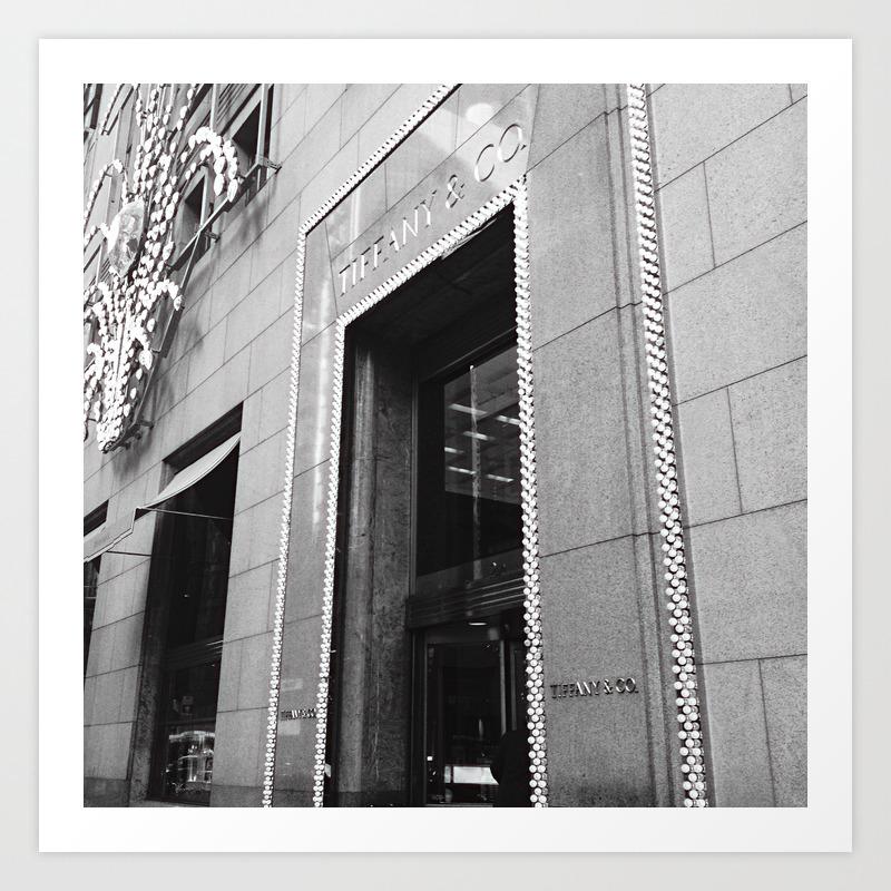 A stroll down fifth avenue    Art Print