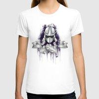 ninja turtle T-shirts featuring Shredder -Teenage Mutant Ninja Turtle by Roe Mesquita